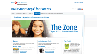 BMO - SmartSteps for Parents - The Zone - 9-12