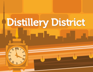 Distillery District - Adobe Illustrator