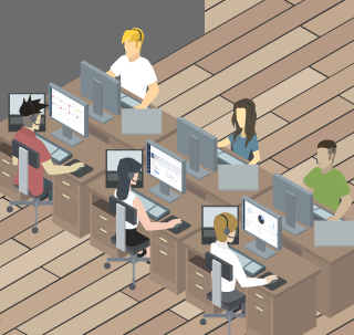 Start-up Office - Adobe Illustrator