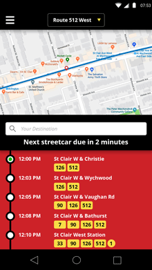TTC Rapid Transit - Map, Routes, and Schedule